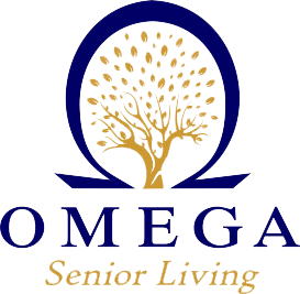 omega senior living logo