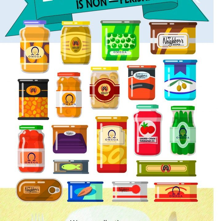 food drive poster image