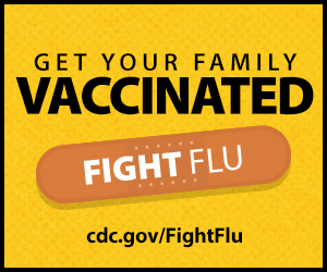 Get your family vaccinated: fight flu!