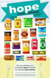food drive poster image
