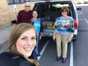 walmart donating food to our drive